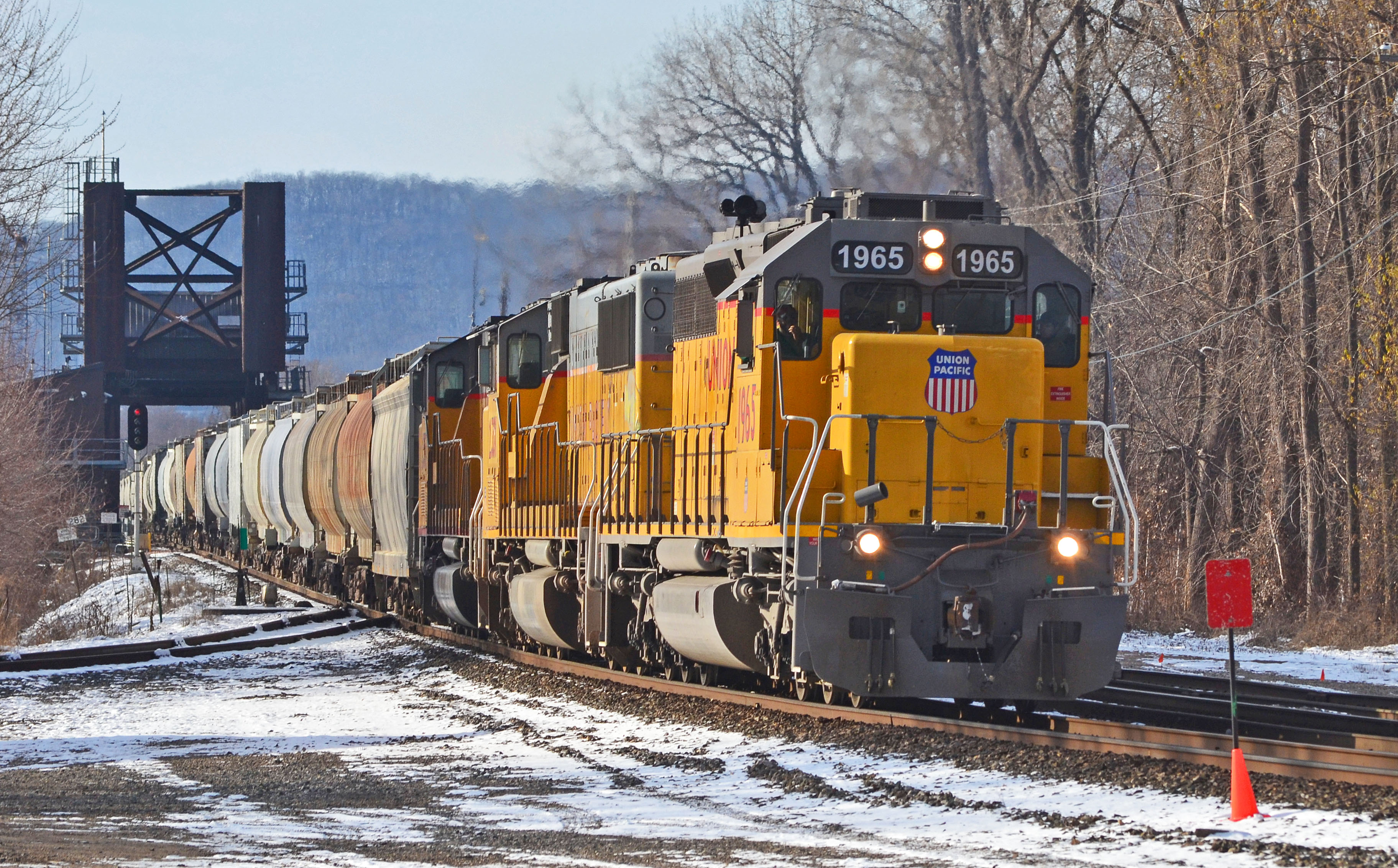 UP   1965,  CP's   Tomah  Sub.