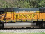side of BNSF 9843
