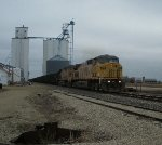 UP 6761 eastbound UP loaded coal train