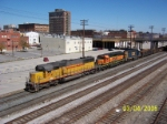 Colorful set of power on CSX southbound