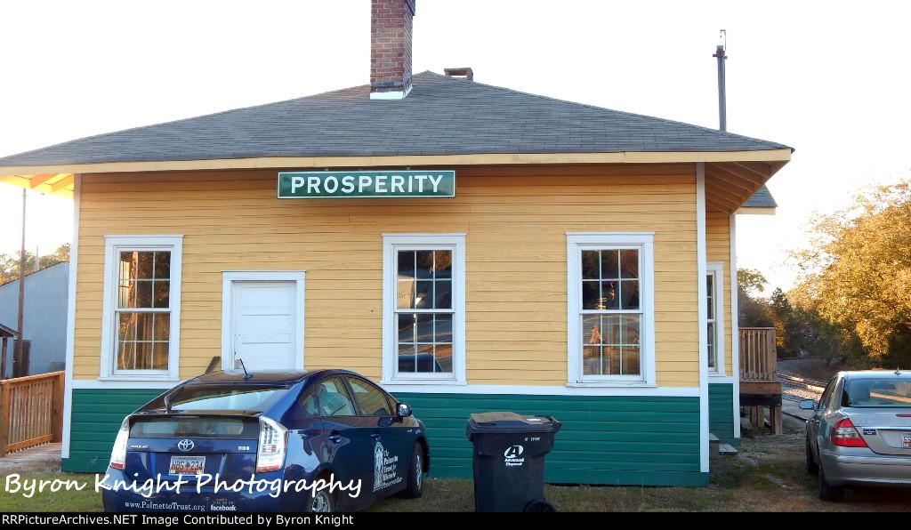 Old Prosperity Southern Railway Depot