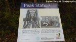 Peak Station Sign