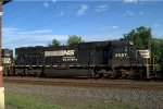 NS SD70 2567 trails on 20K
