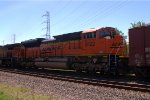 BNSF SD70ACe 9122 trails on K041-20