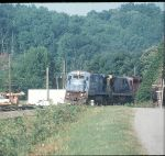 BALLAST TRAIN TO MARION NC