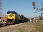 Mar 4, 2006 - CSX 22 passes the north end of the former siding