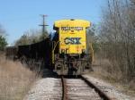 Mar 4, 2006 - CSX 5534 on work train