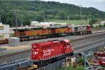 Local and eastbound intermodal