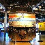 Amtrak F40PHR 281