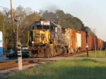 Mar 4, 2006 - CSX 8604 on train F754 passes ACL tombstone