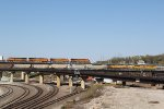 BNSF 6576 Race's a EB Up coal load in Kansas city Mo.