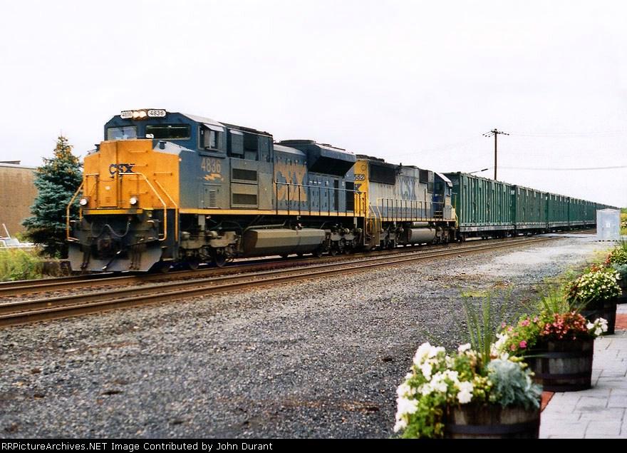 CSX 4836 on K-277