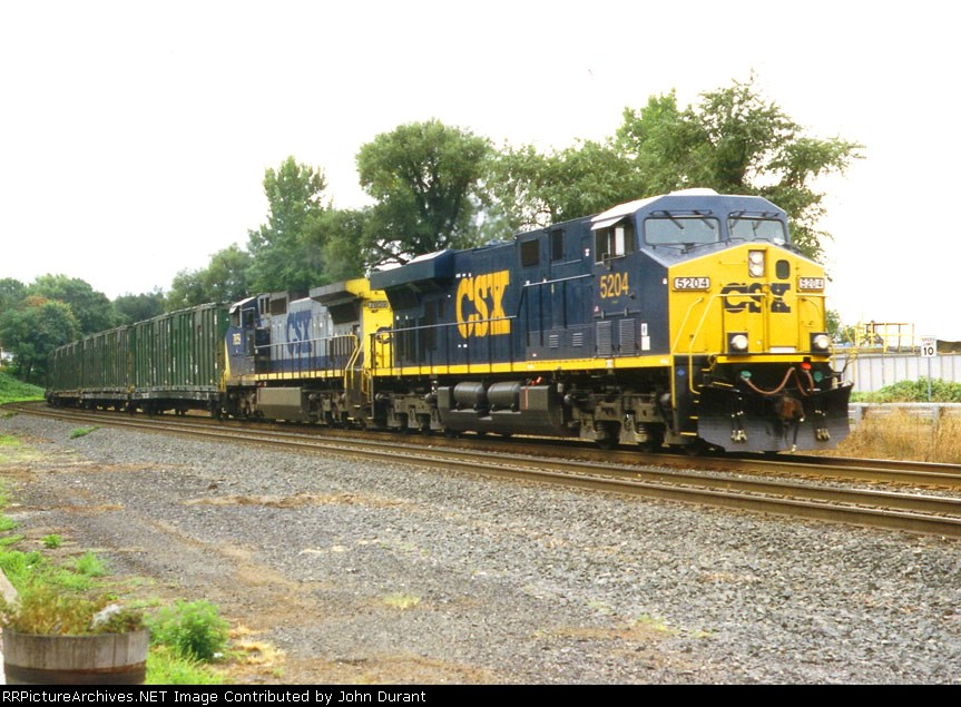 CSX 5204 on K-277