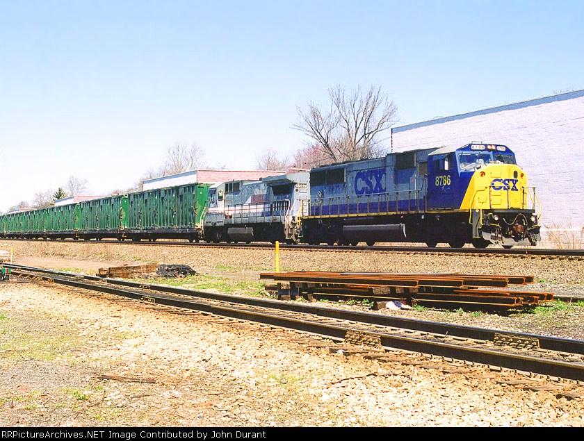 CSX 8786 on K-277
