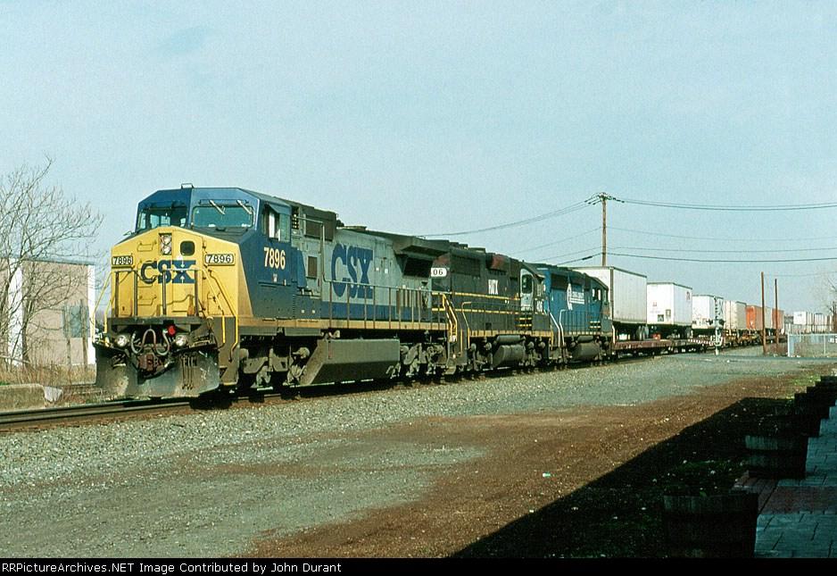 CSX 7896 on Q-108