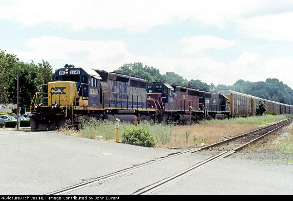 CSX 8349 on Q-271