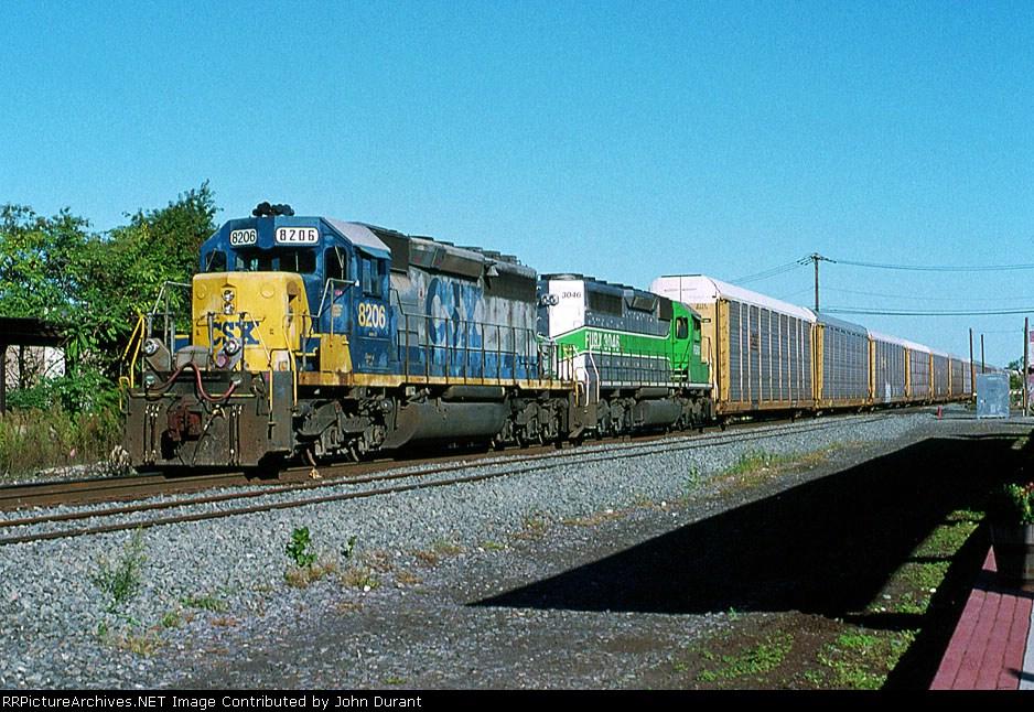 CSX 8206 on Q-254