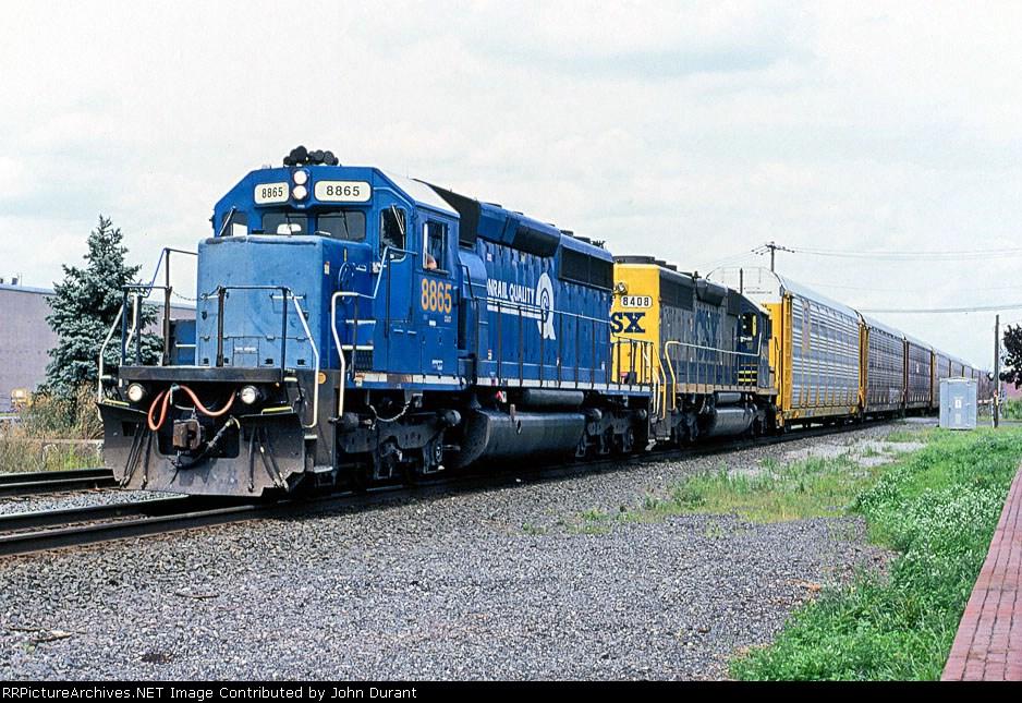 CSX 8865 on Q-254