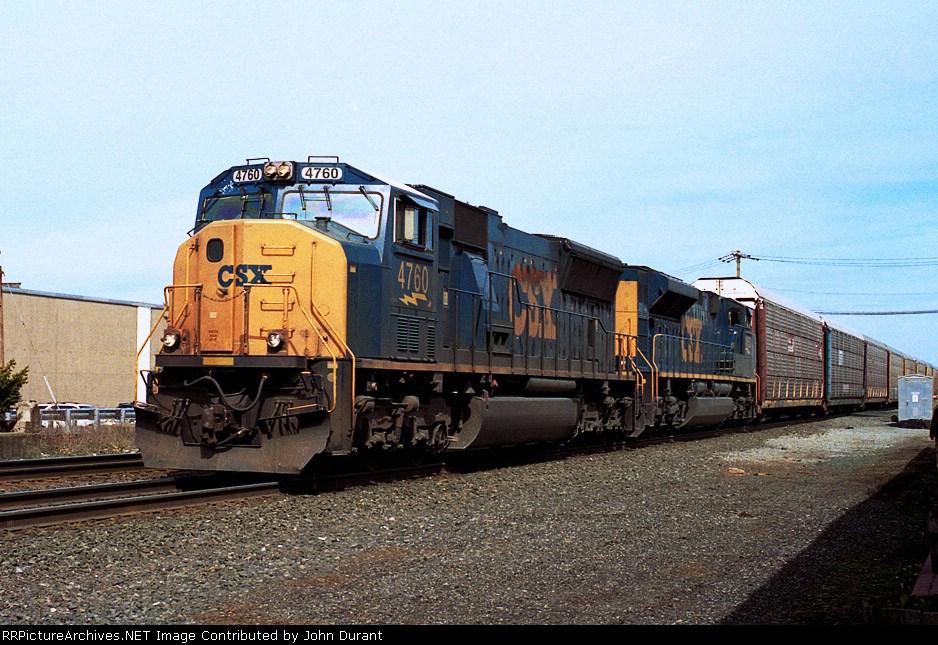 CSX 4760 on Q-254