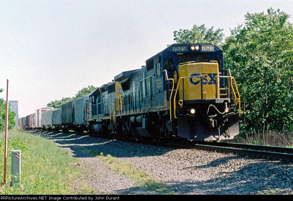 CSX 7579 on Q-410