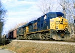 Bongaloid GE's CSX 5362 and 5355 on Q-439