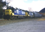 CSX 6280 on the Track Geometry Train