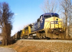 CSX 7658 on Q-254
