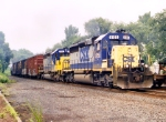 CSX 8155 on Q-402