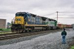 CSX 7556 on Q-112
