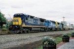 CSX 7605 on Q-108