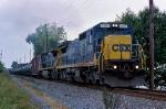 CSX 7566 on Q-404