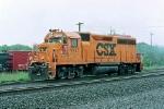 CSX Pumpkin 9727