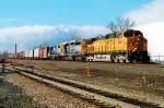 BNSF 4554 on Q-433