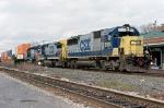 CSX 8535 on Q-156