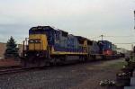 CSX 7640 on Q-156