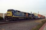 CSX 7553 on Q-118