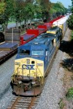 CSX 7687 on Q-254