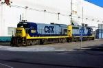 CSX 5841 and CSX 6101