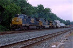CSX 7300 on Q-112