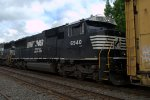 NS SD60E 6940 trails on 11J