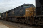 CSX AC60CW 676 trails on 20E