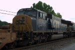 CSX SD60M 8756 trails on 20E