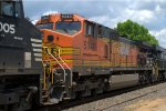 BNSF C44-9W 5340 trails on 212