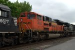 BNSF SD70ACe 9203 trails on 36Q