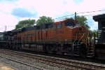 BNSF ES44C4 6745 trails on 38G