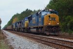CSX T087 Southbound Coal to Tampa