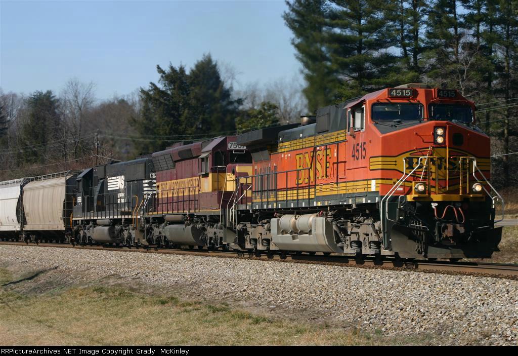 BNSF 4515