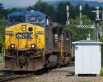 NS Empty Coal Lead by CSX Motor