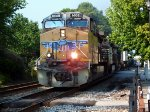 Unknown NS Intermodal Passing Through Cornelia, GA