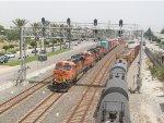 BNSF 7581 thru Alameda Corridor